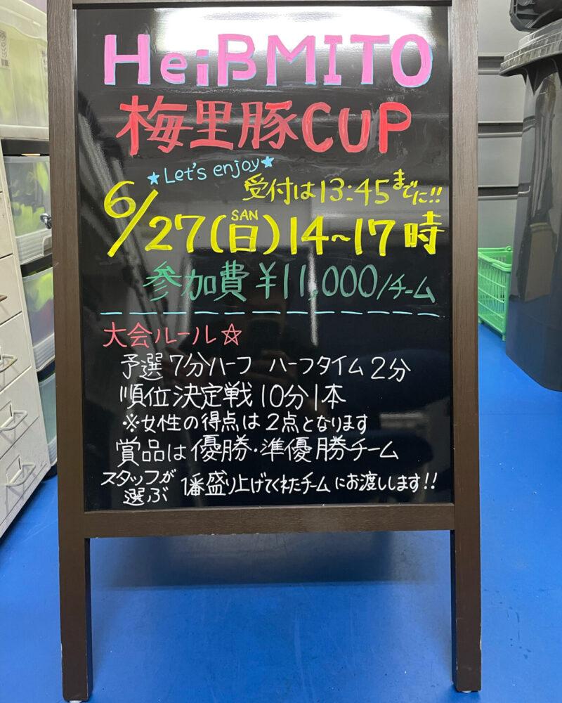 第2回エンジョイ大会【梅里豚カップ】